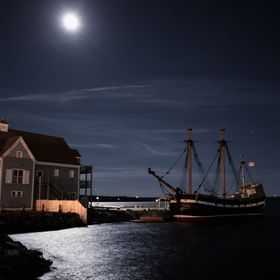 Taken the night of the Lunar Eclipse in Pictou, Nova Scotic, Canada