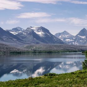 St Mary Lake, Glacier National Park, Montana.  This is taken just minutes into the park from the St Mary entrance on the east side.  Not an often...