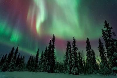 Auroral Colour Show