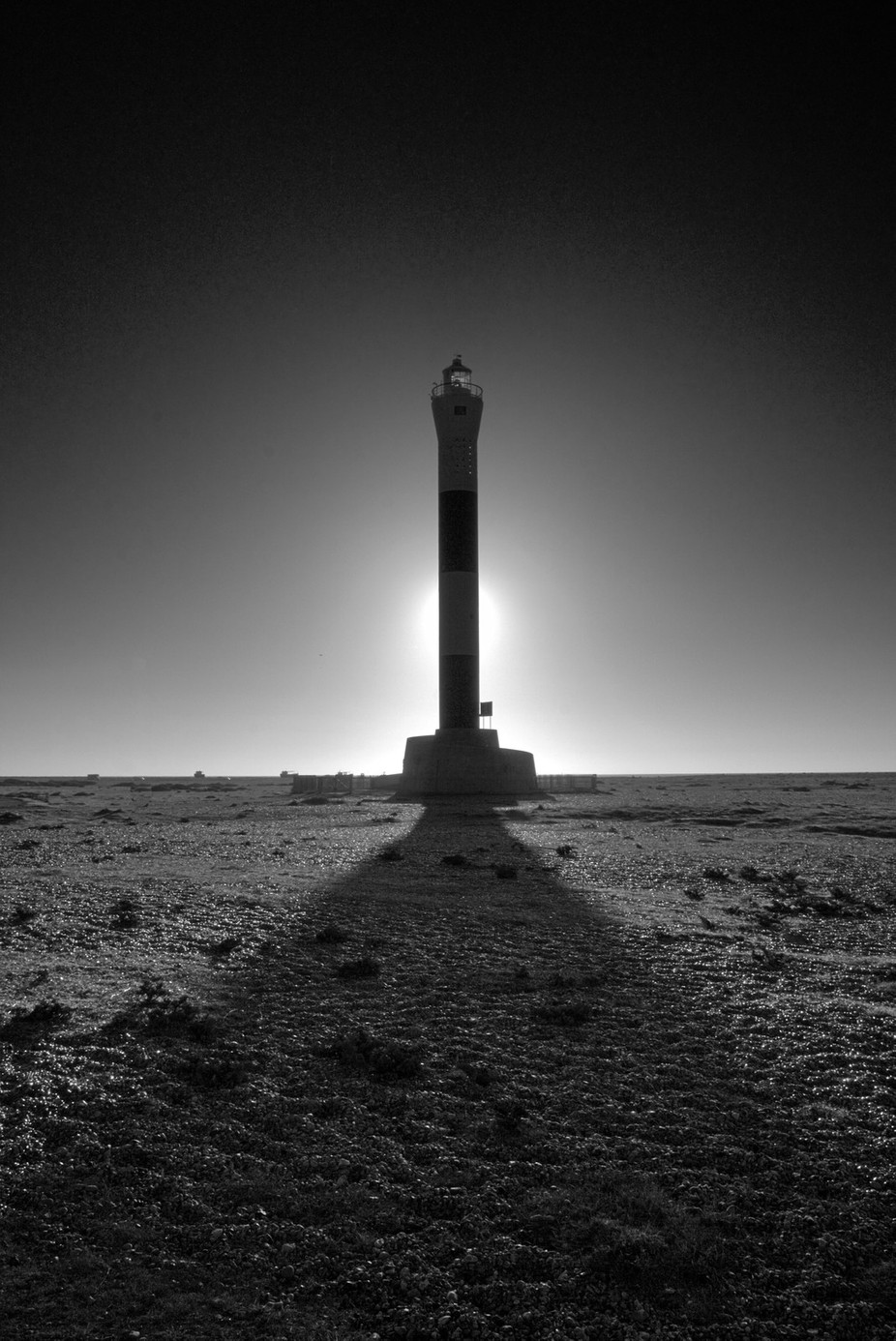 Dungeness Lighthouse by jamiegillies - Black And White Architecture Photo Contest