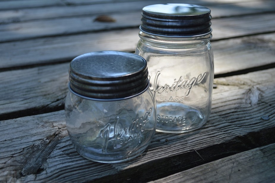 "I absolutely love the simplicity of ""mason"" jars. They can be used for so many ..."