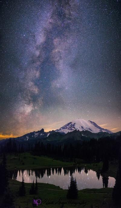 Mt Rainier Milkyway
