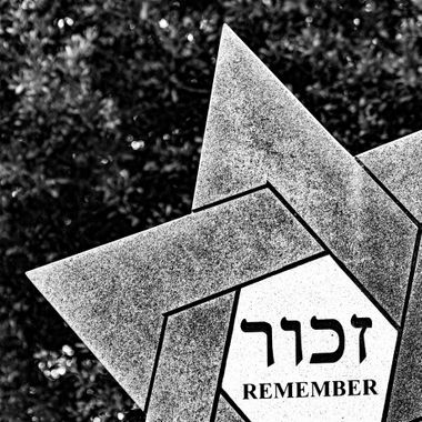 This is from the Holocaust Memorial in Memorial Park, Columbia, South Carolina.