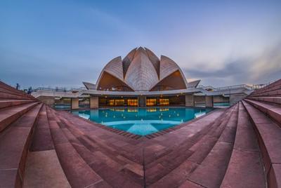 Lotus temple- My POV