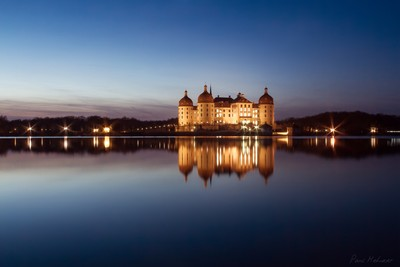Reflection Schloss Moritzburg