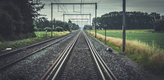 Clear, the tracks by Cessinic - Empty Railways Photo Contest