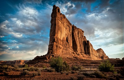 Court House Rock, Arches National Park