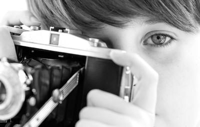 Mason with Camera