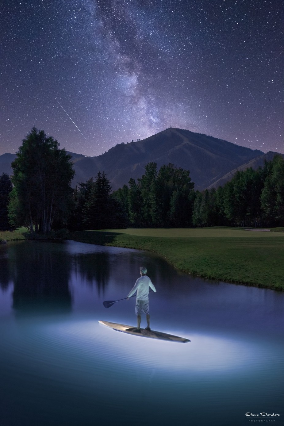 SUP and Stars by sdondero - Zen Photo Contest