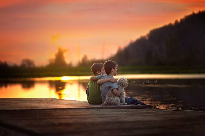 Brotherhood by Lindsey_Shedd - Kids And Pets Photo Contest