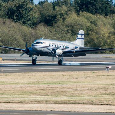 DC 3 Touchdown