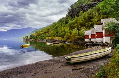 Boats of Sognefjord