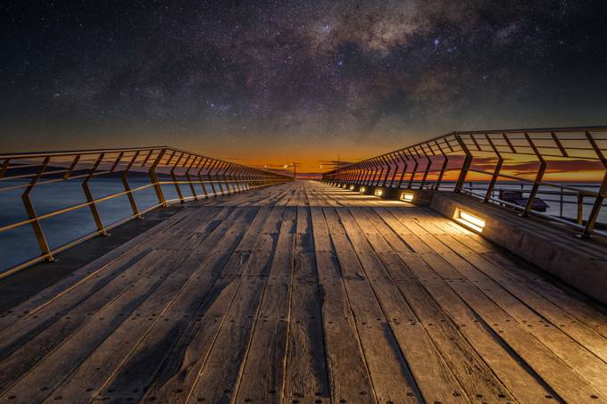 The Great Ocean Road Lorne Pier  by TrevJel - Composition And Leading Lines Photo Contest