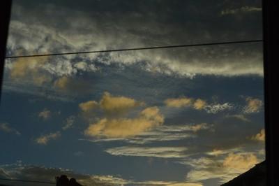 Boldon Colliery, Autumn Clouds, I