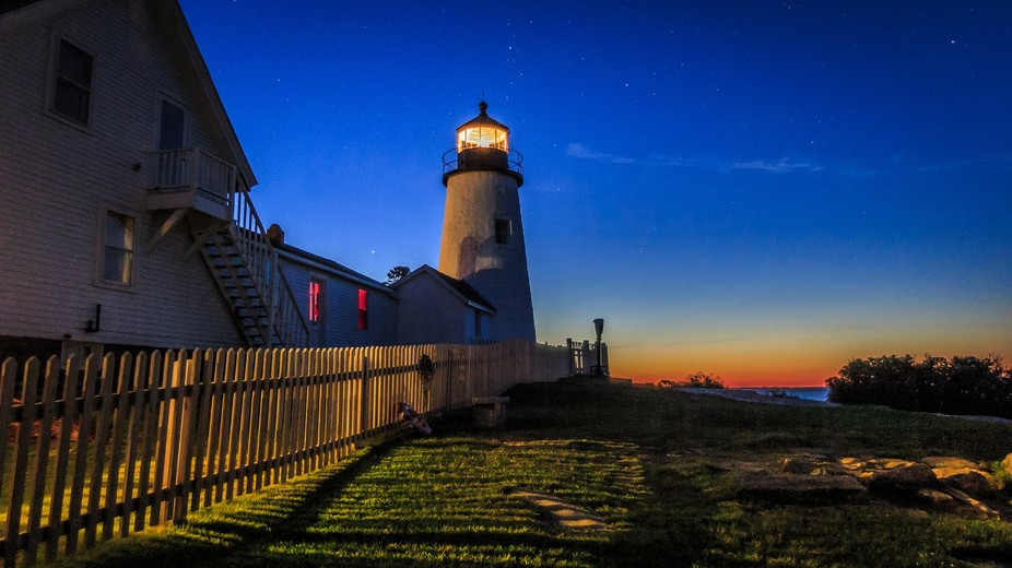 I originally wanted to get something with the Milky Way behind the lighthouse, but I'm n...