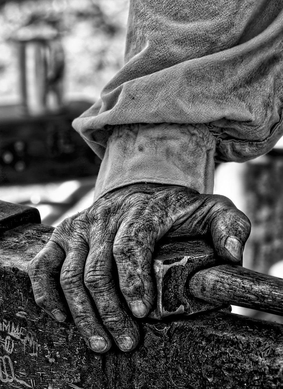 Blacksmith by dynastesgranti - Shooting Hands Photo Contest
