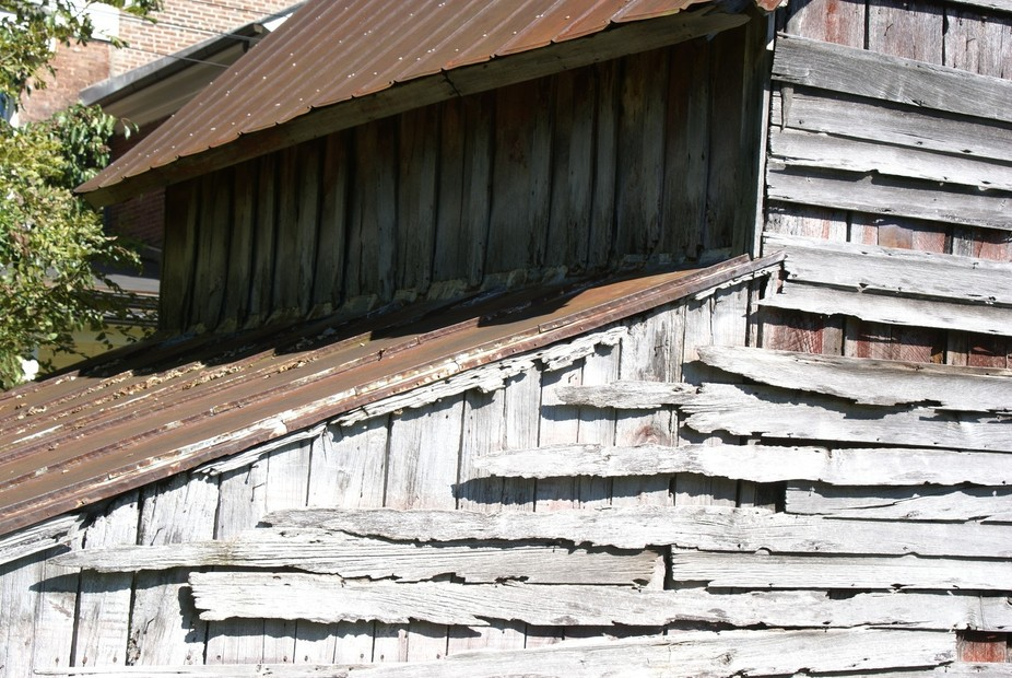 Part of a barn in Richmond Kentucky Civil War Battleground.