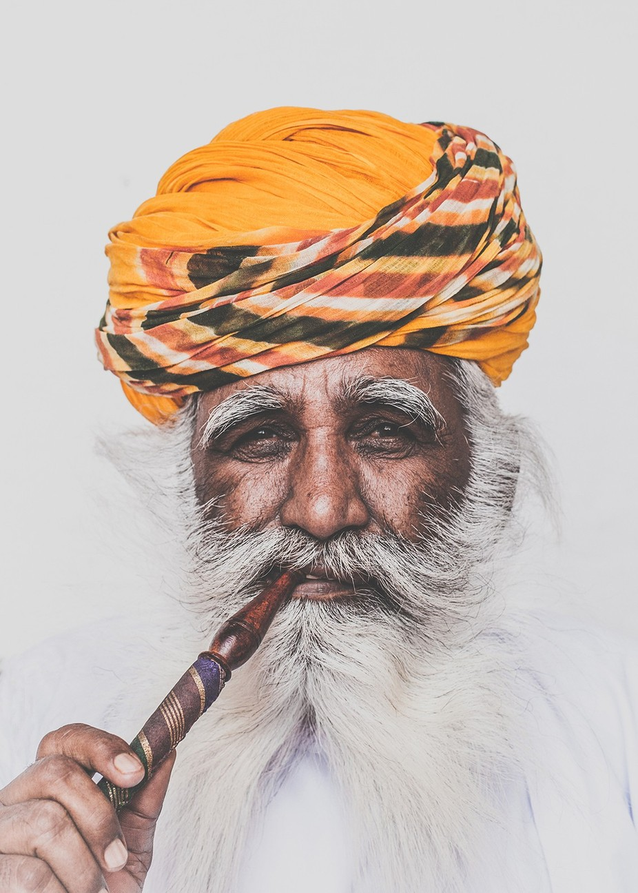 A Man and his Pipe by lukegram - Cultures of the World Photo Contest