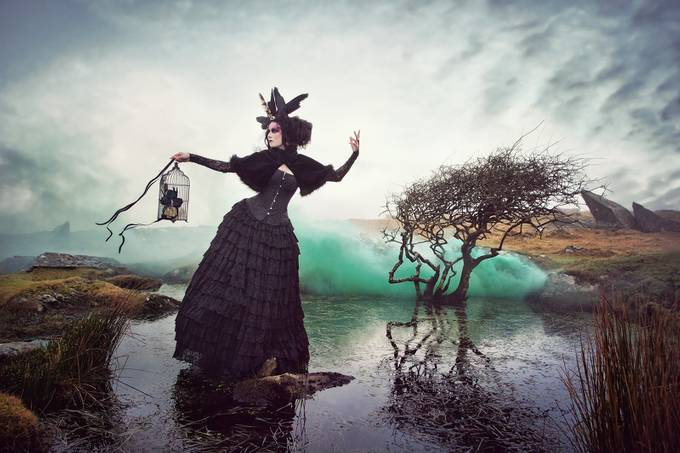 Dark Beauty by CarriAngel - Halloween Photo Contest 2017
