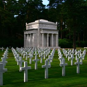 American World War Memorial and Cemetery Section, Brookwood Military Cemetery, Commonwealth War Graves Commission, Brookwood, Borough of Woking, ...