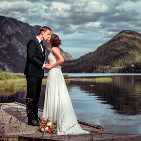 Wedding picture from Dalen, Telemark in Norway