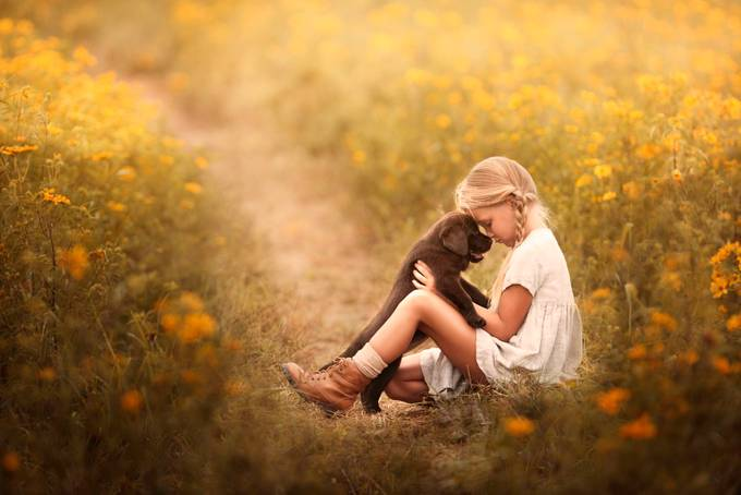 Kindness comes from within.  by Annelisenicolephotography - Kids With Props Photo Contest