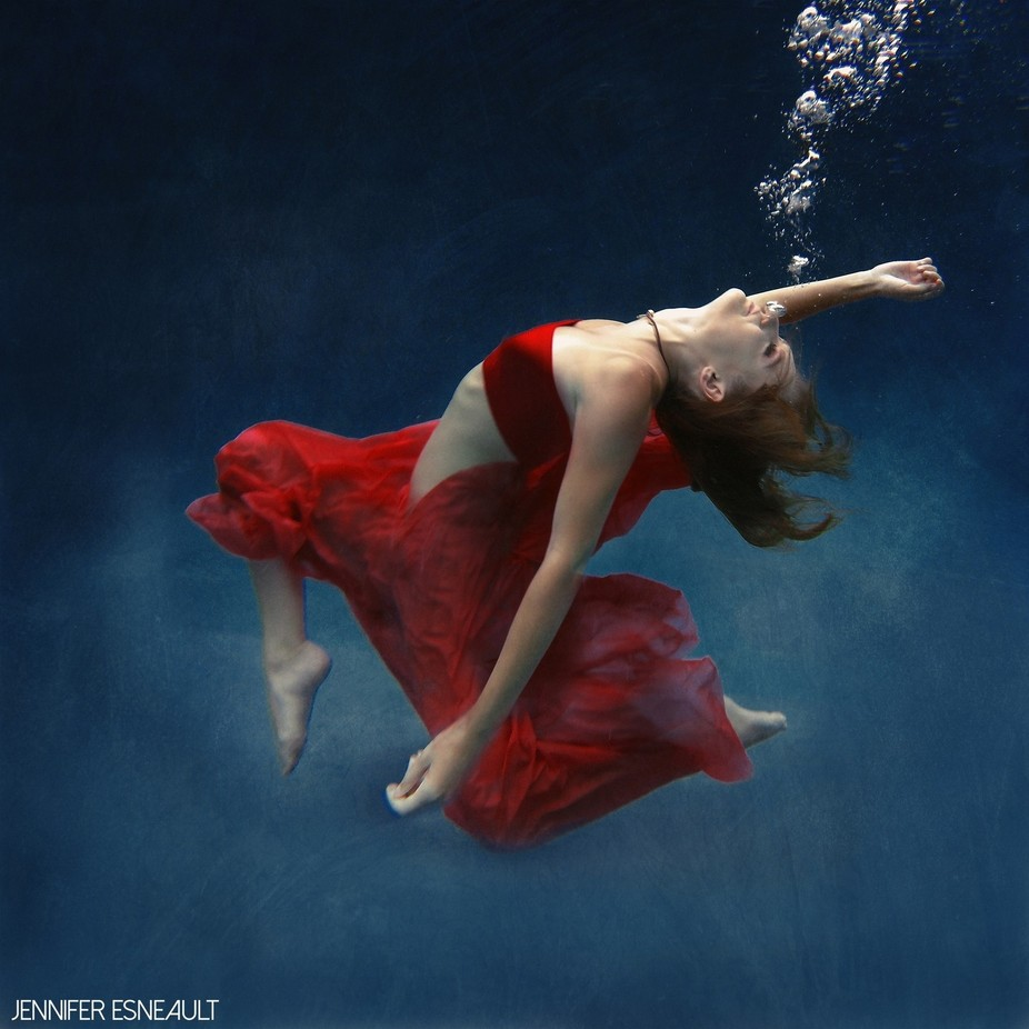 Dance In The Deep by jenteeisme - Bubbles Photo Contest