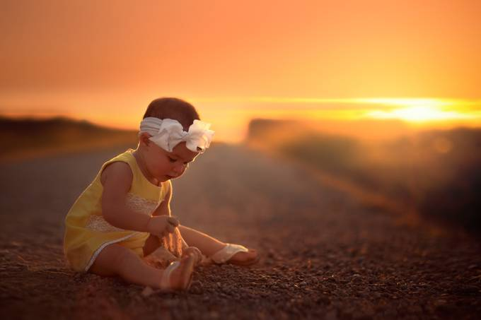 That Fascinating Feeling of Dirt Between the Fingers by BobL73 - Kids With Props Photo Contest