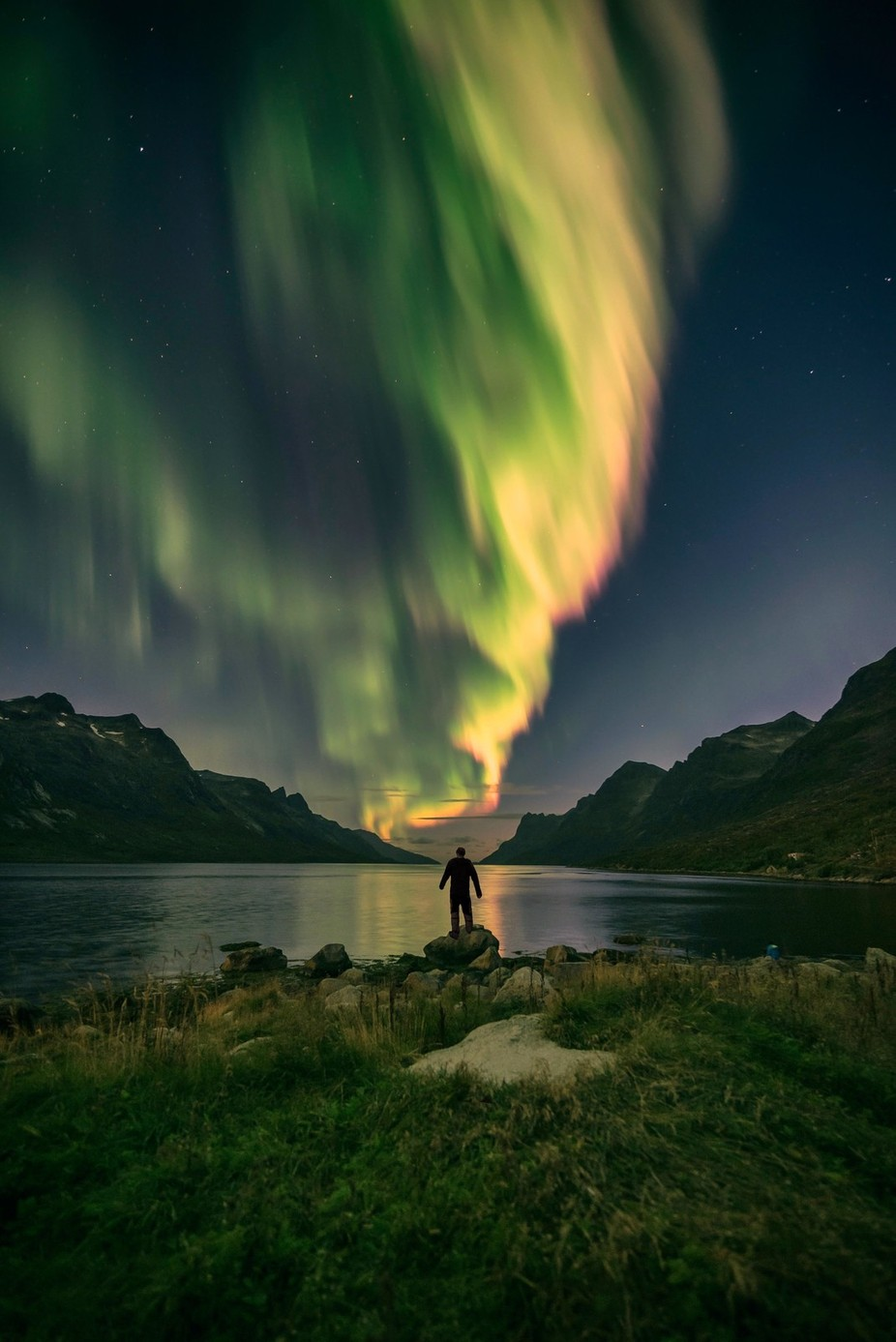 sky is on fire by Eventyr - People In Large Areas Photo Contest
