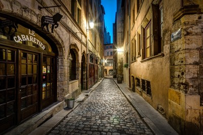 Blue Hour in the Old Lyon