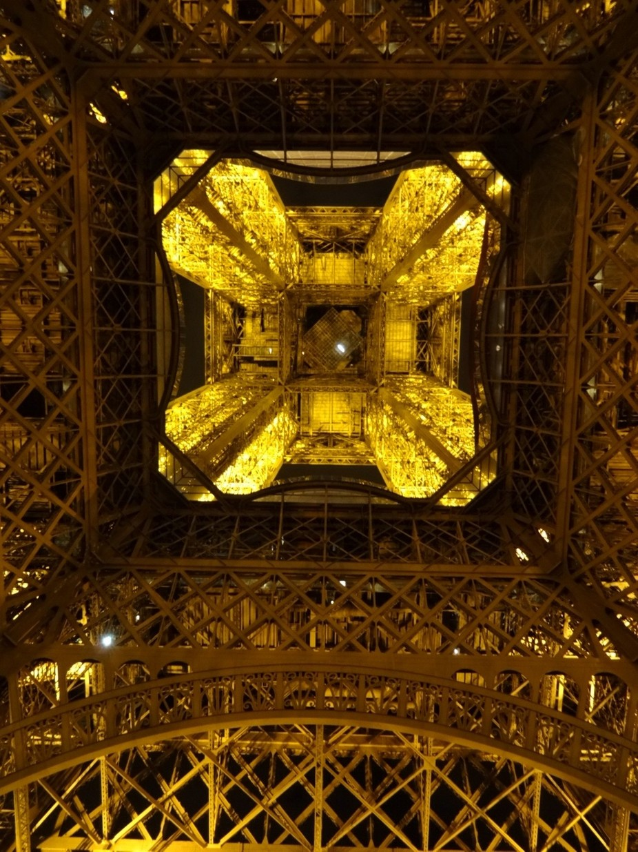 The heart, the epicenter, control tower of The Eiffel Tower. Mesmerizing!