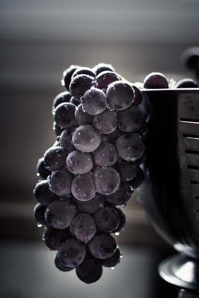 Washed Grapes