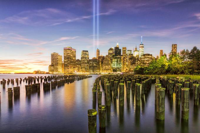 9/11 Tribute in Lights - 2016 by ZevSteinhardt - New York Photo Contest