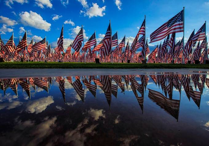 Remembering 9-11 by GayleLucci - Flags and Banners Photo Contest