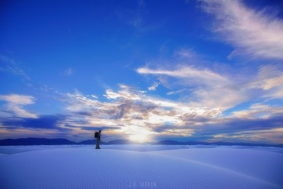 Evening in White Sands NM