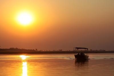 Sunset cruise Chobe River