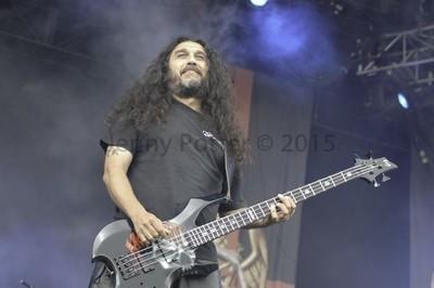 Tom Araya from Slayer
