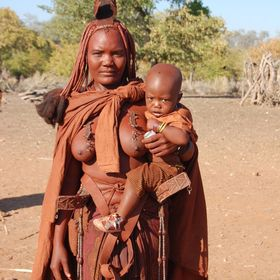 The Himba woman are such special people. Taken in Namibia