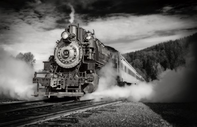 Steam Locomotive 17 by donanzinger - Large Photo Contest