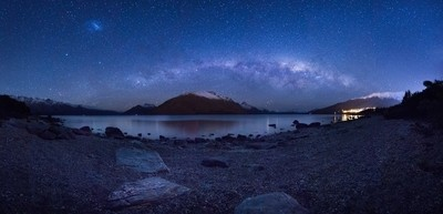 Kelvin Heights Beach and Milky Way