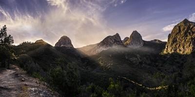 Roque Argando (La Gomera)