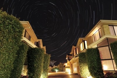 Star Trails @ 170* S
