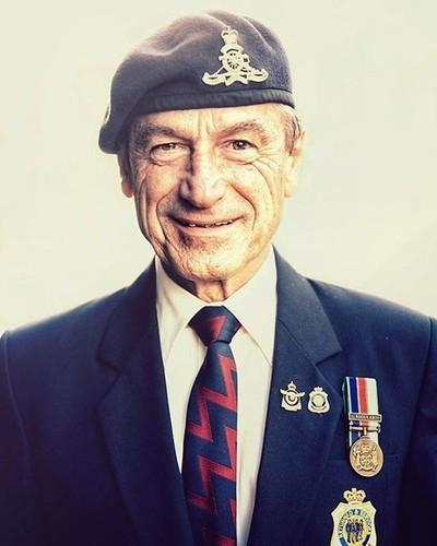Veteran - Anzac. Lest we forget.