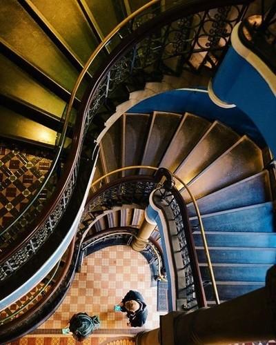 QVB staircase