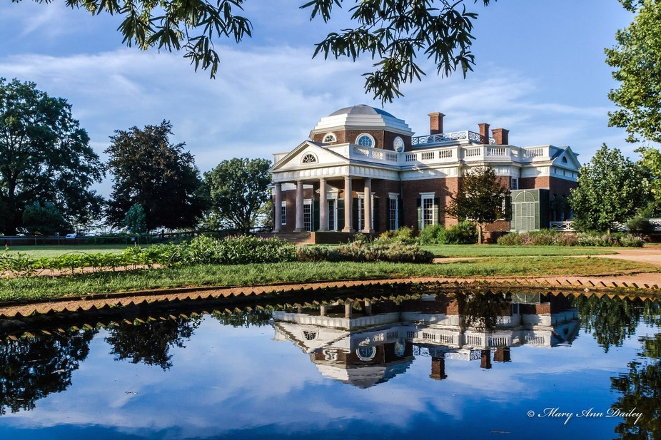 Reflection of Monticello