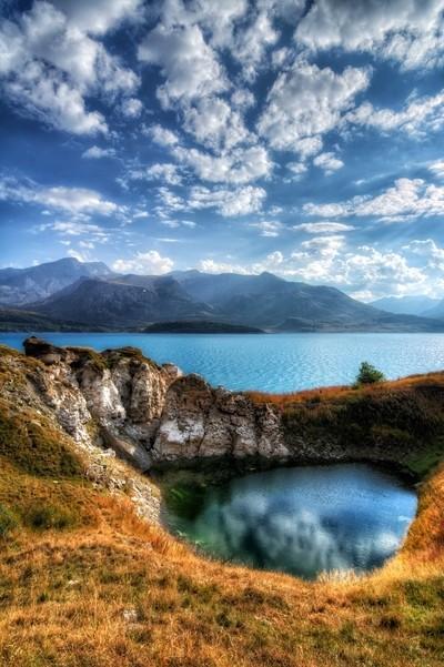 Moncenisio lake