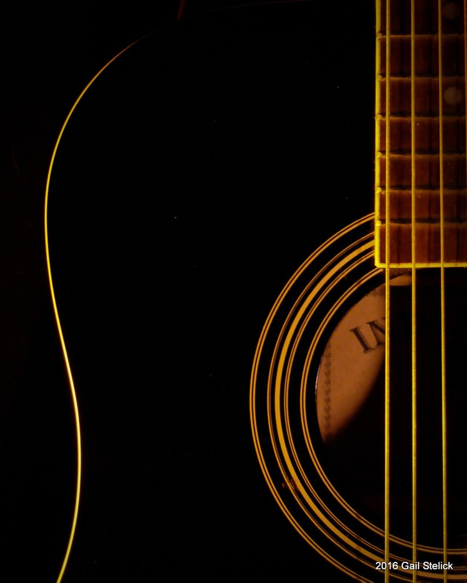 Golden Strings by gailstelick - Musical Instruments Photo Contest