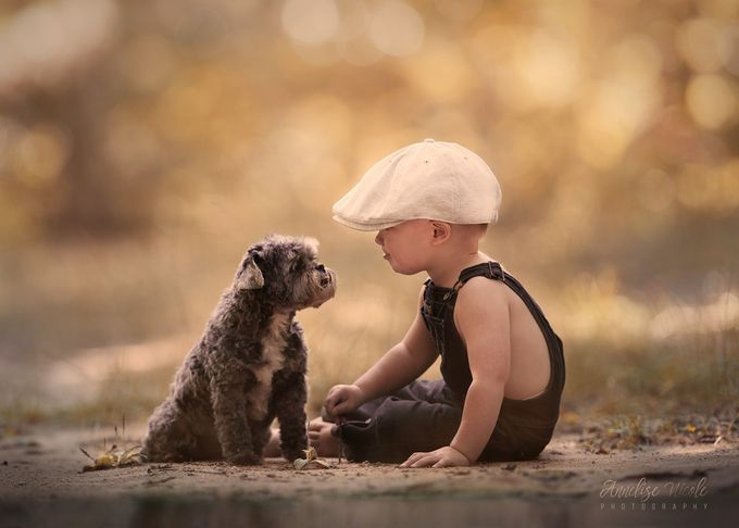 Partners by Annelisenicolephotography - Kids And Pets Photo Contest