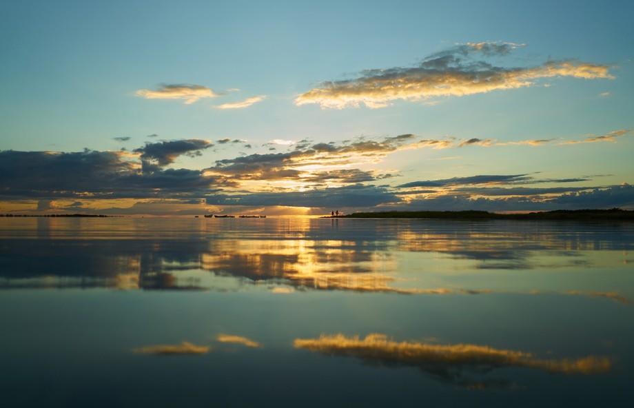 Peacfeul sunset