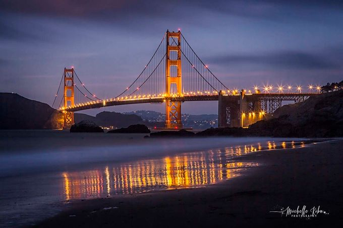 Golden Gate from Baker's Beach by michellekiba - Iconic Places and Things Photo Contest